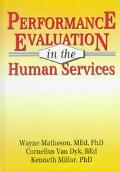 Performance Evaluation in the Human Services
