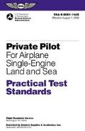 Private Pilot Practical Test Standards for Airplane (Sel and Ses)