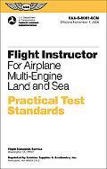 Flight Instructor Practical Test Standards for Airplane Multi-Engine