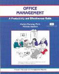 Office Management A Productivity and Effectiveness Guide