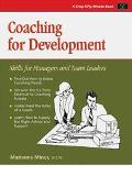 Coaching for Development Skills for Managers and Team Leaders