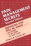 Pain Management Secrets, 1e
