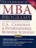 Peterson's Guide to MBA Programs, 1997
