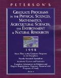 Peterson's Guide to Graduate and Professional Programs in the Physical Sciences, Agricultura...