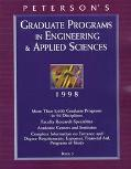 Peterson's Graduate Programs in Engineering and Applied Sciences, 1998, Vol. 5