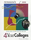 Four-Year Colleges 1999: Everything You Need to Make the Right Choice