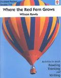 Where the Red Fern Grows, Grades 7 - 8 (Novel units)