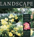 Landscape With Roses Gardens, Walkways, Arbors, Containers