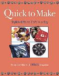 Quick to Make Stylish Gifts to Craft in a Day