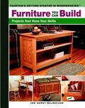 Furniture You Can Build Projects That Hone Your Skills