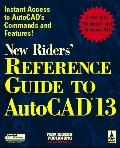 New Riders' Ref.gde.to Autocad 13