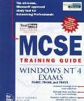 MCSE Training Guide: Windows NT 4 Exams - David Yarashus - Hardcover - BK&CD-ROM
