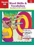 Target Reading & Writing Success: Word Skills & Vocabulary, Grades 4-5