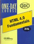Html 4.0 Fundamentals Creating Hypertext Web Pages