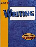 Writing: English in Context