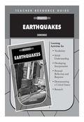 Earthquakes Teacher's Resource Guide