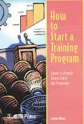 How to Start a Training Program