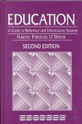 Education A Guide to Reference and Information Sources