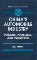 China's Automobile Industry Policies, Problems, and Prospects