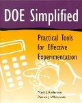 Doe Simplified Practical Tools for Effective Experimentation