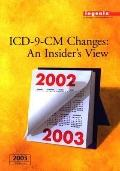 ICD-9-CM Changes: An Insider's View 2003