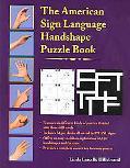American Sign Language Handshape Puzzle Book