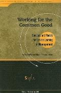 Working For The Common Good Concepts and Models for Service Learning in Management