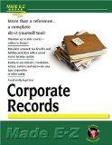 Corporate Records Made E-Z (Made E-Z Guides)