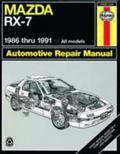 Mazda Rx-7 Automotive Repair Manual/1986 Thru 1991, All Models/No. 1419