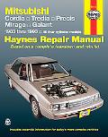 Mitsubishi Cordia Tredia Galant Prects and Mirage 1983 1993