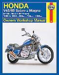 Honda V45/65 Sabre and Magna (Vf700, 750 and 1100 V-Fours) Owners Workshop Manual