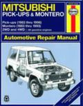Haynes Mitsubishi Pickups and Montero 1983-96