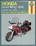 Honda Gl1200 Gold Wing Owners Workshop Manual 1984 Through 1987