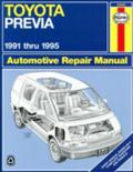 Toyota Previa Repair Manual 1991-1995