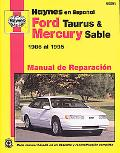 Ford Taurus & Mercury Sable Manual De Reparacion