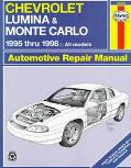 Chevrolet Lumina and Monte Carlo Automotive Repair Manual