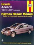 Honda Accord Automotive Repair Manual : Models Covered, All Honda Accord Models 1994 Thru 19...