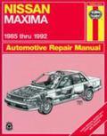 Haynes Nissan Maxima Automotive Repair Manual All Nissan Maxima Models 1985 Through 1992
