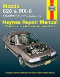 Mazda 626 & Mx-6 Automotive Repair Manual Front-Wheel Drive 1983- 1992