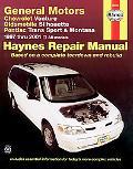 Chevrolet Venture Oldsmobile Silhouette Pontiac Trans Sport and Montana Automotive Repair Ma...