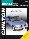 Chilton's Nissan Pick-Ups 1998-01 Repair Manual Covers U.S. and Canadian Models of Frontier ...