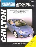 Chilton's Volkswagen New Beetle, 1998-00 Repair Manual