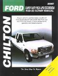 Chilton's Ford Super Duty Pick-Ups/Excursion 1999-02 Repair Manual