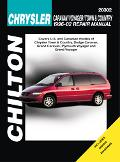 Chrysler Caravan, Voyager And Town & Country 1996 Through 2002