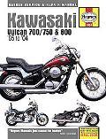Kawasaki Vulcan 700/750 & 800 85 to '04