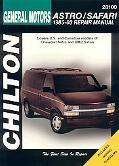 General Motors Astro/safari 1985-2003