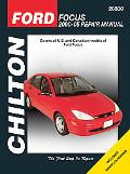 Chilton's Ford Focus 2000-05 Repair Manual Covers All Ford Focus Models