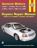 General Motors Cadillac Deville and Seville Automotive Repair Manual Cadillac Deville (1994 ...