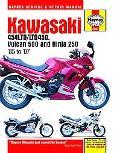 Kawasaki Ex250, En454 & En500, '86-'06