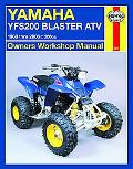 Haynes Yamaha Yfs200 Blaster ATV Owners Workshop Manual